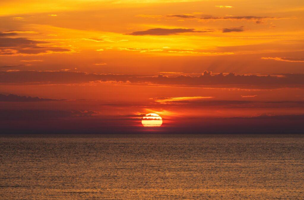 zonsondergang hindeloopen